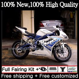 $enCountryForm.capitalKeyWord NZ - Bodywork For Triumph Daytona 675 09 10 11 12 Body Blue white 8PG16 Daytona675 09-12 Daytona 675 2009 2010 2011 2012 Blue Fairing Bodywork