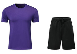 Wholesale athletics clothing for sale – designer 2019 new men Customized Soccer Jersey Sets Jerseys With Shorts sports jerseys Discount Cheap buy Athletic fan clothing football Shirts wear