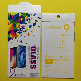 $enCountryForm.capitalKeyWord Australia - Tempered glass film packing boxes 10 in 1 package color gift box for iphone samsung screen protector box