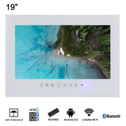 Soulaca 19inch White Color Android 4.2.2 Waterproof TV For Hotel LED ON IN Wall Mounted Advertising on Sale