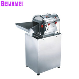 Slice Cutter Machine Australia - BEIJAMEI High efficiency Commercial Restaurant Vegetable Cutter Price electric potato carrot Slicer slicing machine for sale