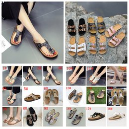 Cool beaCh sandals online shopping - 18styles Sequins Sandals Mermaid Flip flops Summer Cork Slipper Sandles fashion Antiskid Slippers Casual Cool Slippers beach Sandal FFA2016