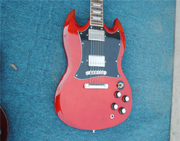 Sg guitar color online shopping - Color RED P90 Collect SG Guitar WITH p90 one pickup Electric Guitar SG Make old all received