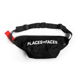 Places Faces Life Skateboards Designer Bag 19ss New P + F Borsa a spalla da donna per uomo Unisex Mini Cute Waist Bags in Offerta