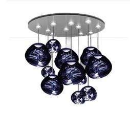 $enCountryForm.capitalKeyWord Australia - Nordic Silver Glass Pendant Lights Lighting Lava Hanging Lamp for Living Room LOFT Pendant Lamp Bedroom Bar Kitchen Fixtures LLFA