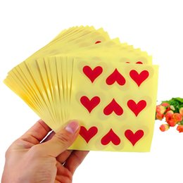 kraft products Australia - 450PCS Lot Vintage Fashion Romatic Heart shape Round Kraft paper Sticker for Handmade Products Gift seal sticker Wholesale