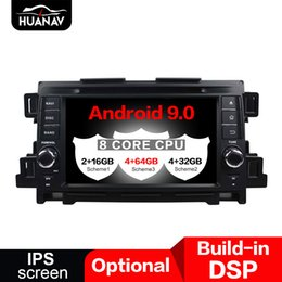 mazda car dvd gps navigation UK - DSP Android 9.0 Car GPS Navigation CD DVD Player For Mazda CX-5 2011 2012 auto radio player Head unit multimedia Stereo tape NAV