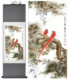 Art Canvas Prints Australia - Birds And Flower Art Painting Home Office Decoration Chinese Scroll Painting Flower Art Painting Chinese Painting2019061535