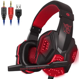 China PLEXTONE PC780 Headband Games Headphones 3.5mm USB Wired Gaming Headset for PC Gamer Computer with Mic LED Light Earphones cheap plextone earphones suppliers
