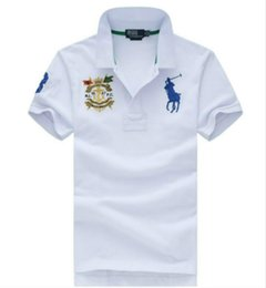 Wholesale classic t shirt for sale – custom 19ss Designer Brand T Shirt Polo Shirt Ralph Classic Embroidered Pony Mark T Shirt Sports Business High Quality New T Shirt Casual Polo