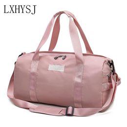 Luggage Hand Bags Australia - Women's Travel Bag Large Capacity Hand Luggage Bags Travel Duffle Multifunction Weekend Bag High Quality Yoga Package Handbag
