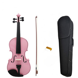 Stringed inStrument online shopping - NAOMI Full Size Violin Fiddle Student Violin Bow Stringed Instrument Acoustic Violin For Kids Beginners
