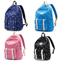 Cute Backpacks For Teenage Girls Australia - COLLEGE GIRLS CUTE SCHOOL BAGS GOOD RUCKSACK DAMEN CANVAS LEATHER PU BACKPACK FOR TEENAGE GIRLS PINK NAVY SKY BLUE BLACK