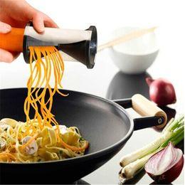 $enCountryForm.capitalKeyWord Australia - Brand New Vegetable Tools Vegetable Slicer Blades Fruit Vegetable Cutter Spiral Grater Potato Carrot Kitchen Gadget