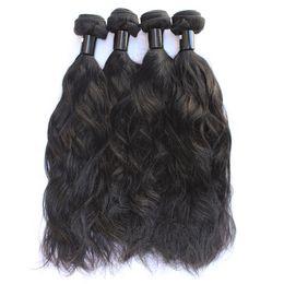 Großhandel 100 Unverarbeitete Jungfrau-Inder-Haar-Bündel-Häutchen richtete indisches Haar aus