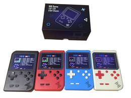 Android Free Games Australia - New 168 in 1 Retro FC Portable Mini Handheld Game Console 2.8'' TFT Screen Texture Surface Support TV-Out Best Kids Gift free DHL