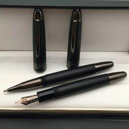Discount high quality pen brands - Luxury Original Box High quality Meisterstek 149 Matte Black Roller ball pen Fountain pen with Monte Brands Write Suppli