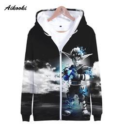 3d Clothing Design Australia - Aikooki 3D Jak 3 Zipper Hoodies Men Women Sweatshirts Hoody Jak 3 Daxter Zipper Hooded Boy Girls Polluver Fashion Design Clothes