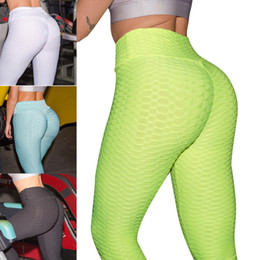 Wholesale butt lift pants resale online - 2019 New Fashion Sexy Women Anti cellulite Compression Leggings Slim Fit Butt Lift Elastic Pants Bs88 MX190717