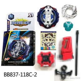 $enCountryForm.capitalKeyWord NZ - 4D Beyblade Burst BB837-118C-2 gyro Spinning top with Sword Launcher and box Anime Toy Gifts For Kids bayblade burst arena