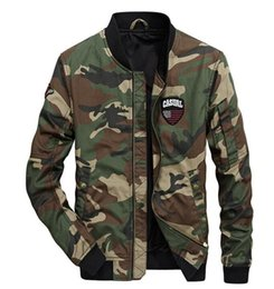 $enCountryForm.capitalKeyWord Australia - Autumn new camouflage jacket men loose casual men pilot baseball suit fashion youth camouflage