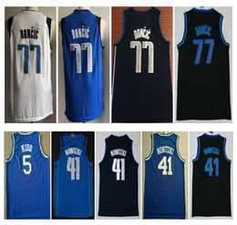 55ea4faacade Camisa costura online-2019 hombres nuevo cosido 77   Luka Doncic Jersey de  baloncesto de