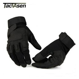 $enCountryForm.capitalKeyWord NZ - Men's Army Gloves Man Full finger gloves Safety Anti-Slippery Leather Tactical YWHX-001