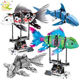 $enCountryForm.capitalKeyWord Australia - 342pcs Simulated Moving Fish Model Building Blocks Compatible Legoingly Technic Animal City Bricks Educational Toys For ChildrenMX190820