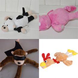 Monkey Movies online shopping - Flying Monkey Stuffed Doll Lovely Soft Plush Toys Santa Claus Toy Christmas Deer Cartoon High Quality hd D1