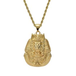 pendant south america Australia - hip hop South America Boar head god pendant necklaces for men women luxury animal pendants stainless steel gold silver necklace jewelry gift