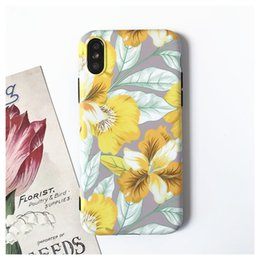 Vente en gros Nouveau pour iphone x coque de téléphone portable coque créative peint iphone 678plus coque de protection imd usine cas de téléphone