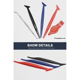 $enCountryForm.capitalKeyWord NZ - 5PCS Car Vinyl Wrap Tuck Tools Gasket Micro Squeegee Car Stickers Corner Decorate Scraper For Window Tint Application