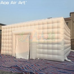 $enCountryForm.capitalKeyWord UK - White material inflatable ice cube tent,inflatable event tent toys,trade show marquee,eye catcher canopy with free fan by factory