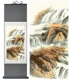 $enCountryForm.capitalKeyWord Australia - Landscape Painting Home Office Decoration Chinese Scroll Painting Mountain And Water 1906151711