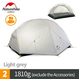 Discount man tents - Naturehike 2 Man Camping Tent Outdoor Two Person Hiking Backpacking Tents with Footprint Mongar 2 New