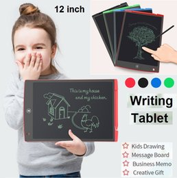 $enCountryForm.capitalKeyWord UK - 2019 NEW LCD Writing Tablet 12 inch Digital Memo Board Blackboard Handwriting Pads With Upgraded Pen for Adults Kids Office Drawing