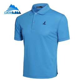 quick dry polo shirts men Australia - Outdoor Sport Hiking Climbing Fishing T Shirt Basketball Running Polo Shirt Men Soccer Camiseta Quick Dry Fitness Soccer Shirts