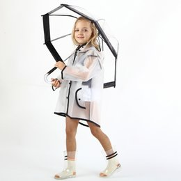 $enCountryForm.capitalKeyWord Australia - Baby Waterproof Rain Coat Boy Children's Raincoat Girls Windproof Poncho Kindergarten Kids Transparent Raincoat