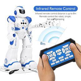$enCountryForm.capitalKeyWord Australia - Remote Control Intelligent Robot Gesture Sensor Singing Dancing Educational Toy For Boys Children Birthday Gift kid Smart Robot
