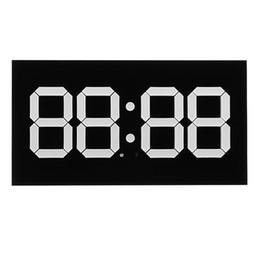 $enCountryForm.capitalKeyWord NZ - 3D LED Digital Wall Alarm Clock WIFI Remote Control 14 Inch Calendar Night light For Home Living Room Office