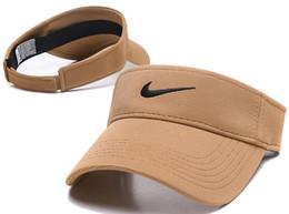 2019 novo designer de chapéu de golfe pala de sol sunvisor chapéu de festa boné de beisebol chapéus de sol protetor solar chapéu de Tênis Praia elástica chapéus Sunhat frete grátis em Promoção
