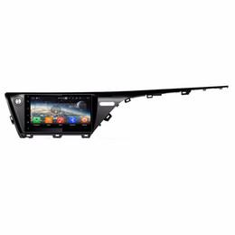 "Dvd Gps Indonesia Australia - 4GB+64GB PX5 10.1"" Android 8.0 Car DVD GPS Multimedia Head Unit for Toyota Camry 2018 RDS Radio USB Bluetooth WIFI Mirror-link"