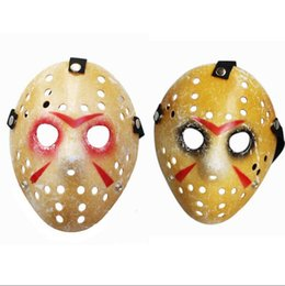 $enCountryForm.capitalKeyWord Australia - Black Friday Halloween Mask NO.13 Jason Voorhees Freddy Hockey Masquerade Masks Full Face For Adult Party Cosplay 100pcs lot