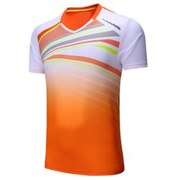 badminton uniforms women NZ - Men Women t-shirt badminton suits,breathable table tennis Jersey Ping pong T-shirt,tracksuit training Uniforms Masculino Mujer