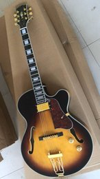 Electric Guitar 335 NZ - Factory Wholesale Custom Direct New Products 335 Model 175 with Neck in Sunburst Jazz Electric Guitar Free Shipping 180610