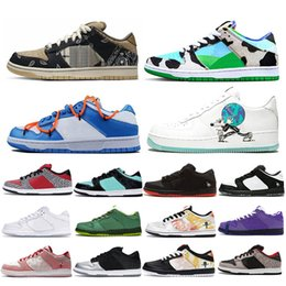 panda canvas shoes NZ - men women running shoes Raygun Tie Dye White Black Red Cement Safari Purple Lobster Night of Mischief Panda Pigeon Kentucky sports sneakers