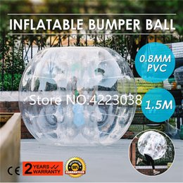 $enCountryForm.capitalKeyWord Australia - Free Shipping 1.5m PVC Inflatable Bubble Soccer Ball Bumper Ball Zorb Balls Loopy Balls Football Bubble Cheaper Price