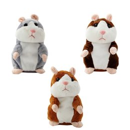 say toys Australia - Magic Talking Hamster Pulse Toy Mimicry Pet Electronic Mouse Educational Toy Recording Repeats What You Say Imitate Human Voice