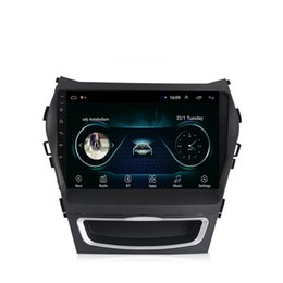 Chinese  Android car GPS navigation mp3 mp4 music player HD 1080 beautiful wallpaper smooth music multi-touch screen for Hundai ix45 2013-2017 9inch manufacturers