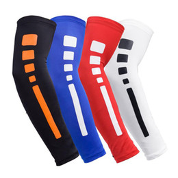 China Arm Warmers Protectors Cycling Running Outdoor Compression Quick Dry Basketball Sports Elbow Guard Arm Sleeves Protective Gear LJJZ71 supplier wholesale compression gear suppliers